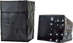 Hydrofarm HGB2GAL Grow Bag 2 Gallon, Pack of 25
