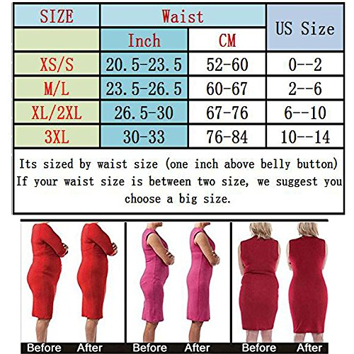 aa9741235e Larry Marry Women High Waist Cincher Girdle Belly Slimmer Trainer Black Shapewear  Butt Lifter