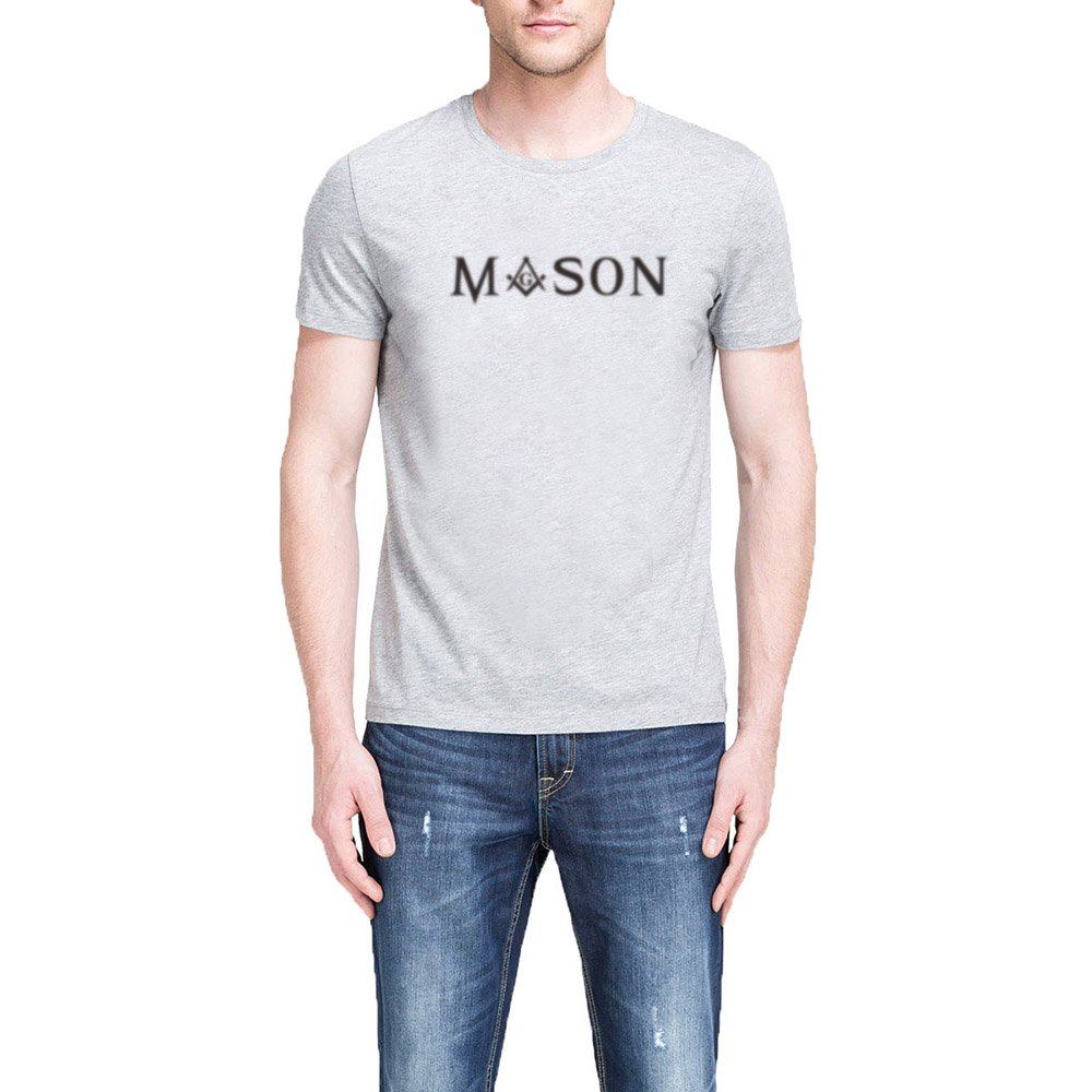 S Mason Square Compass Casual Graphic T Shirts Tee