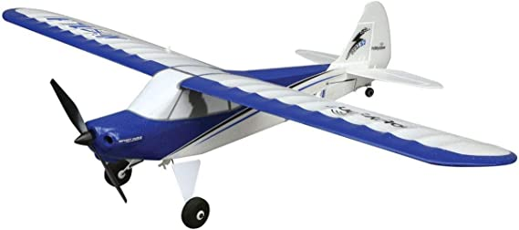 HobbyZone Sport Cub S RC Airplane BNF (Transmitter Not Included) with SAFE Technology | 150mAh 3.7V LiPo Battery | USB Charger