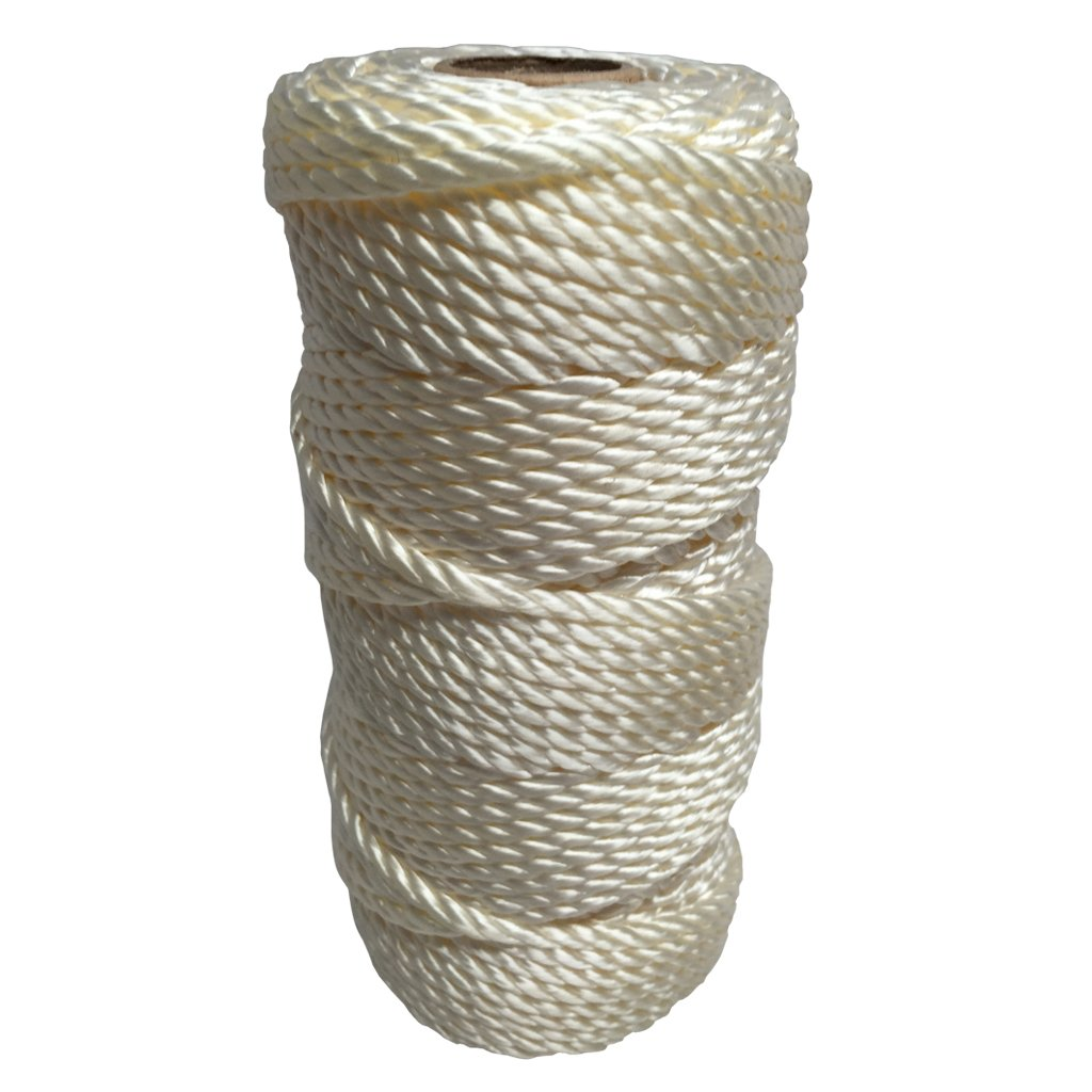 Hunting Survival Crafting Mason Line Boating SGT KNOTS Twisted Nylon Seine Twine #42 100/% Nylon Fiber- High Tensile Strength /& Versatile Utility Twine 485 ft Fishing Camping Marine