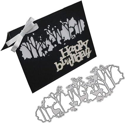 Metal Cutting Dies Stencil Embossing Xmas Wedding Paper Card Craft Deer
