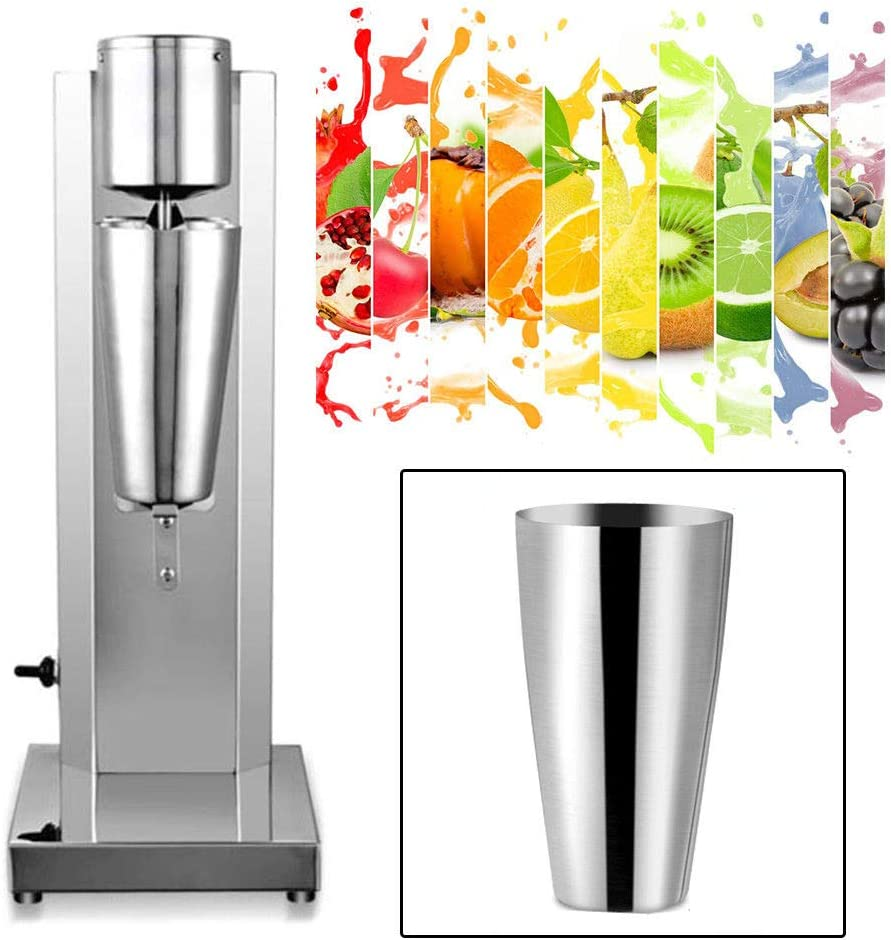 Commercial Electric Milkshake Drink Mixer Shake Machine 180W Smoothie Milk Ice Cream Blender 650ML