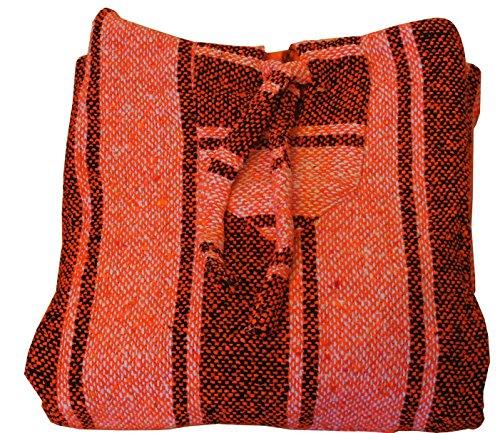 Classic Mexican Baja Pullover Hoodie Jack - O- Lantern LG by Onsale Merchandise (Classic Jack O Lantern)