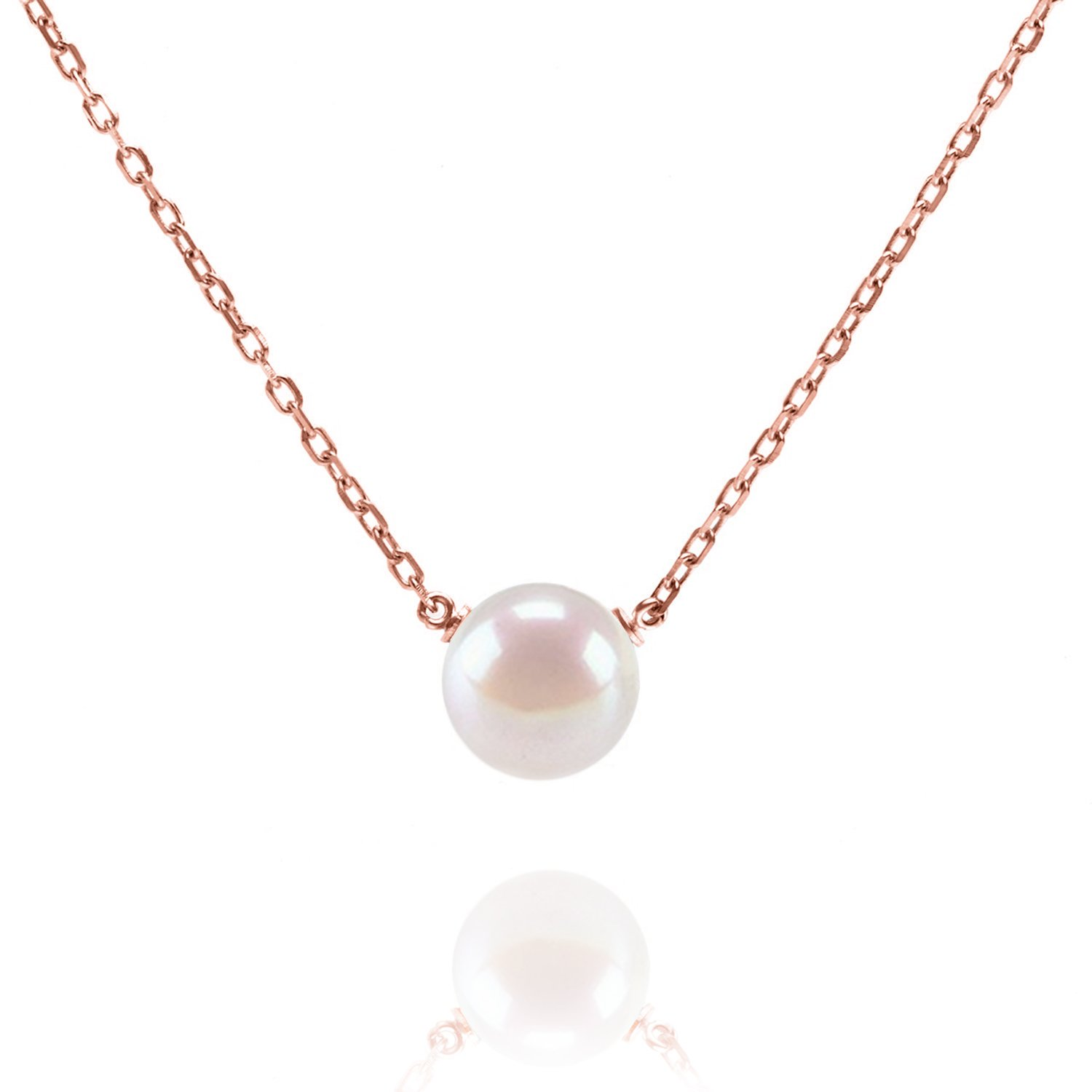 59f81471a86d7 PAVOI Handpicked AAA+ Freshwater Cultured Single Pearl Necklace Pendant |  Gold Necklaces for Women