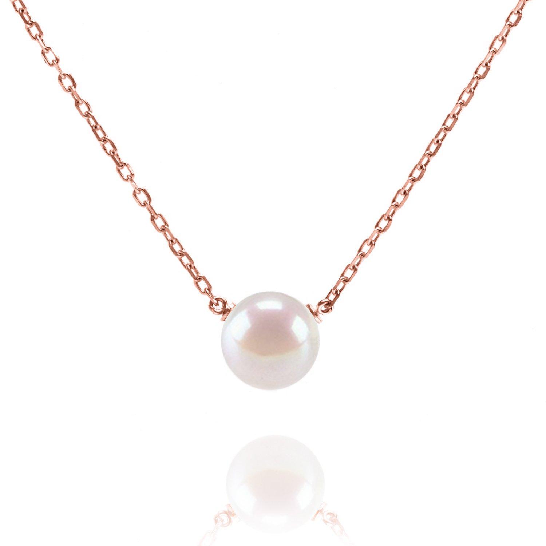 Amazon PAVOI Handpicked AAA Freshwater Cultured Pearl
