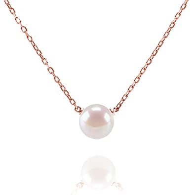 Amazon PAVOI Handpicked AAA Freshwater Cultured Pearl
