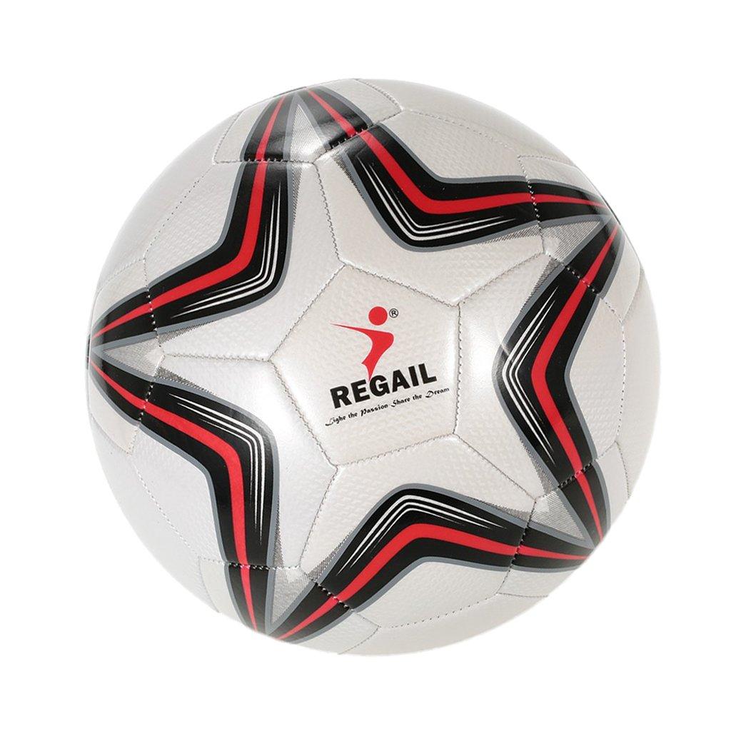 fenteer星サイズ5 PUサッカーボールフットボールの初心者Teenager大人用ゲームトレーニング B077TM2Z7C