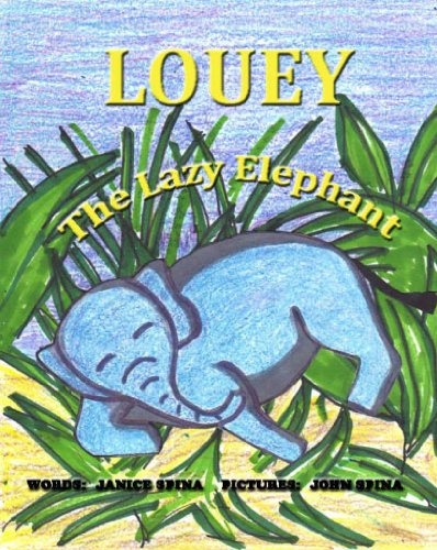 Louey the Lazy Elephant