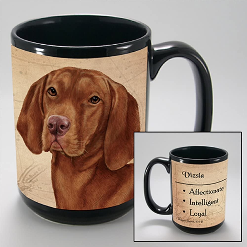 Hungarian Vizsla gifts I Wake up Hungarian Vizsla mug Printed Mu gift idea