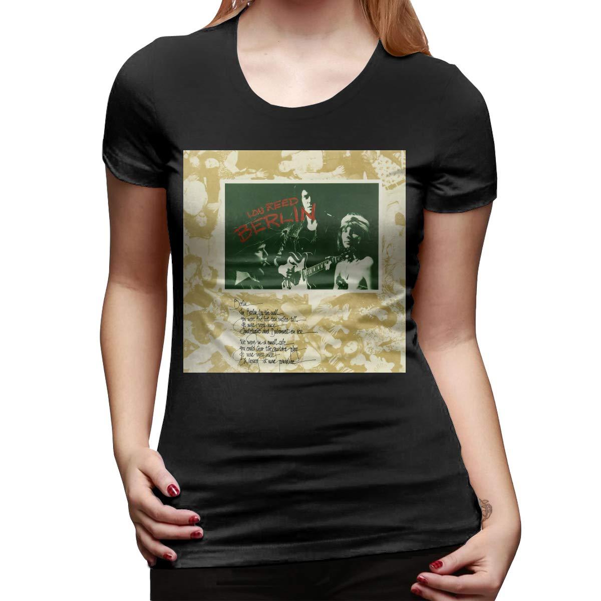 Lou Reed Berlin Womans Sports Music Theme Short Sleeve Shirts