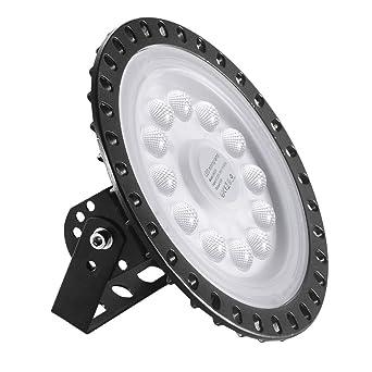Viugreum UFO LED Lámpara de Alta Bahía, Blanco Frío Iluminación 50W, Impermeable IP65,