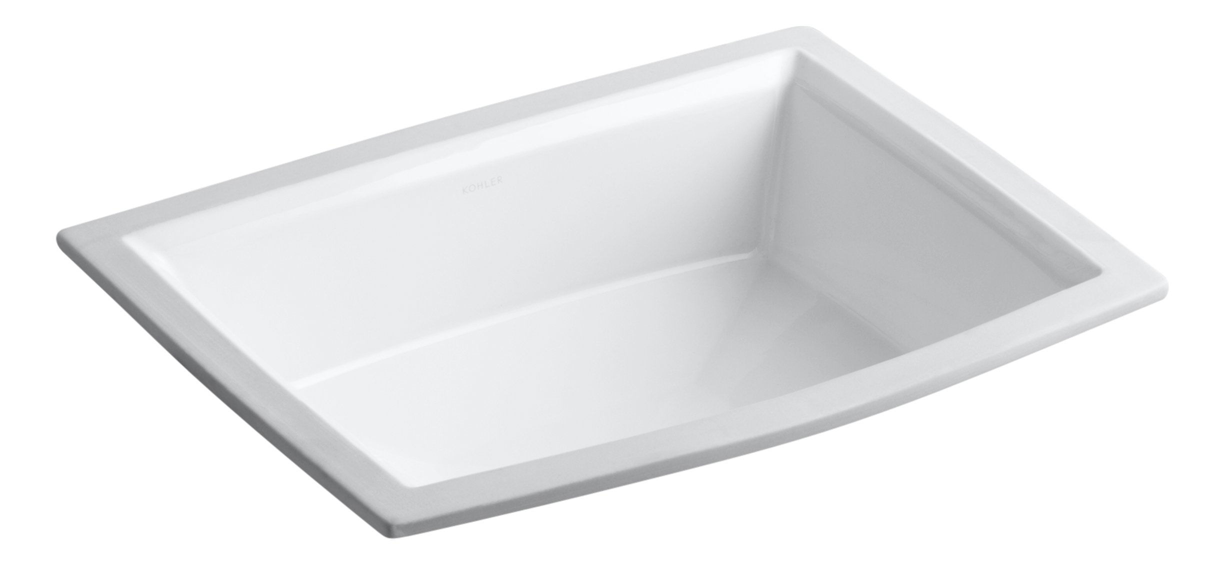 KOHLER K-2355-0 Archer Undercounter Bathroom Sink, White by Kohler
