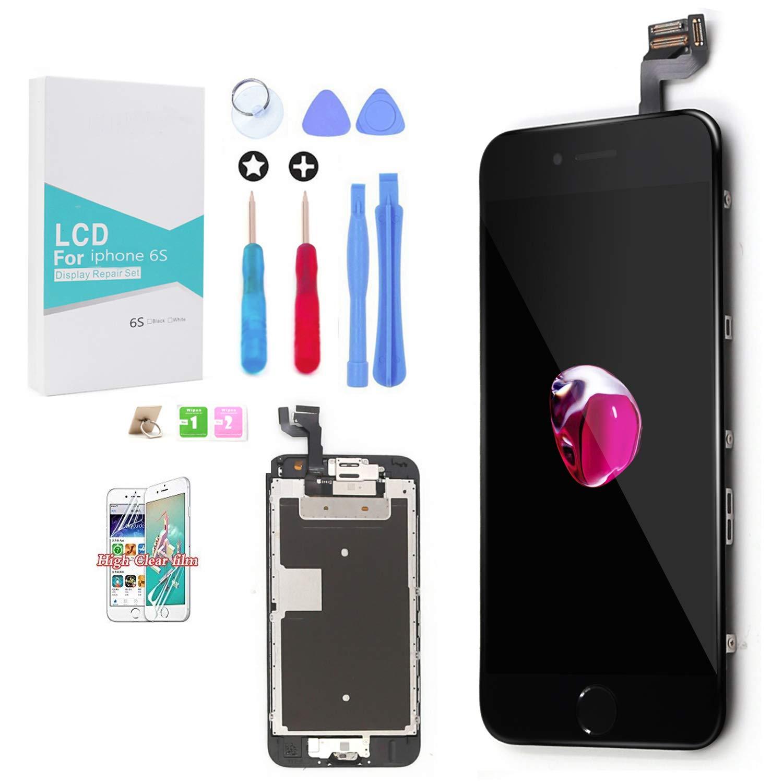 GLOBALGOLDEN Pantalla LCD de Repuesto para for iPhone 6s, Pantalla Táctil de 4,7
