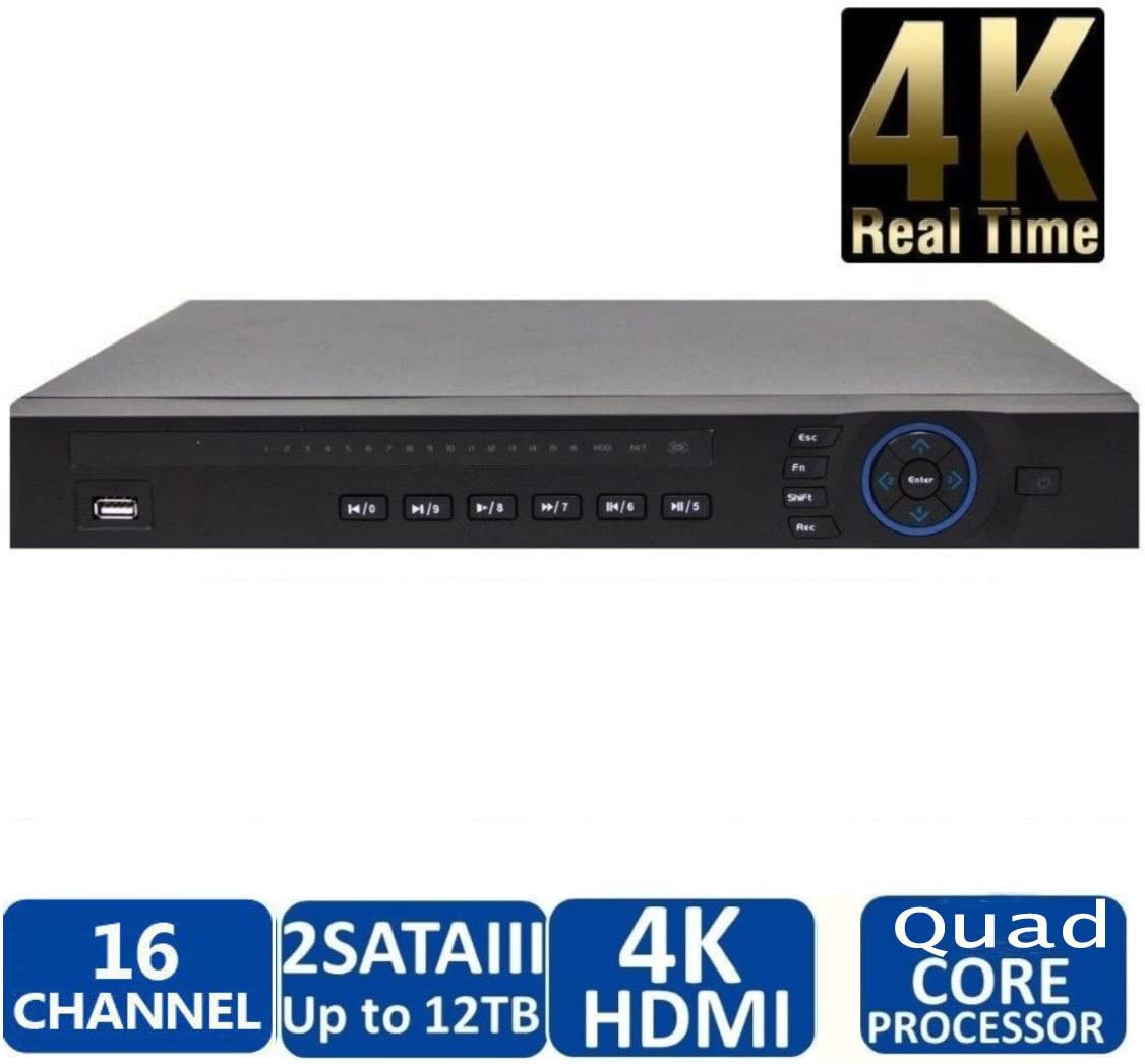 Dahua OEM NVR4216-4KS2 16 Ch Security Network Video Recorder Onvif 8MP IP Camera