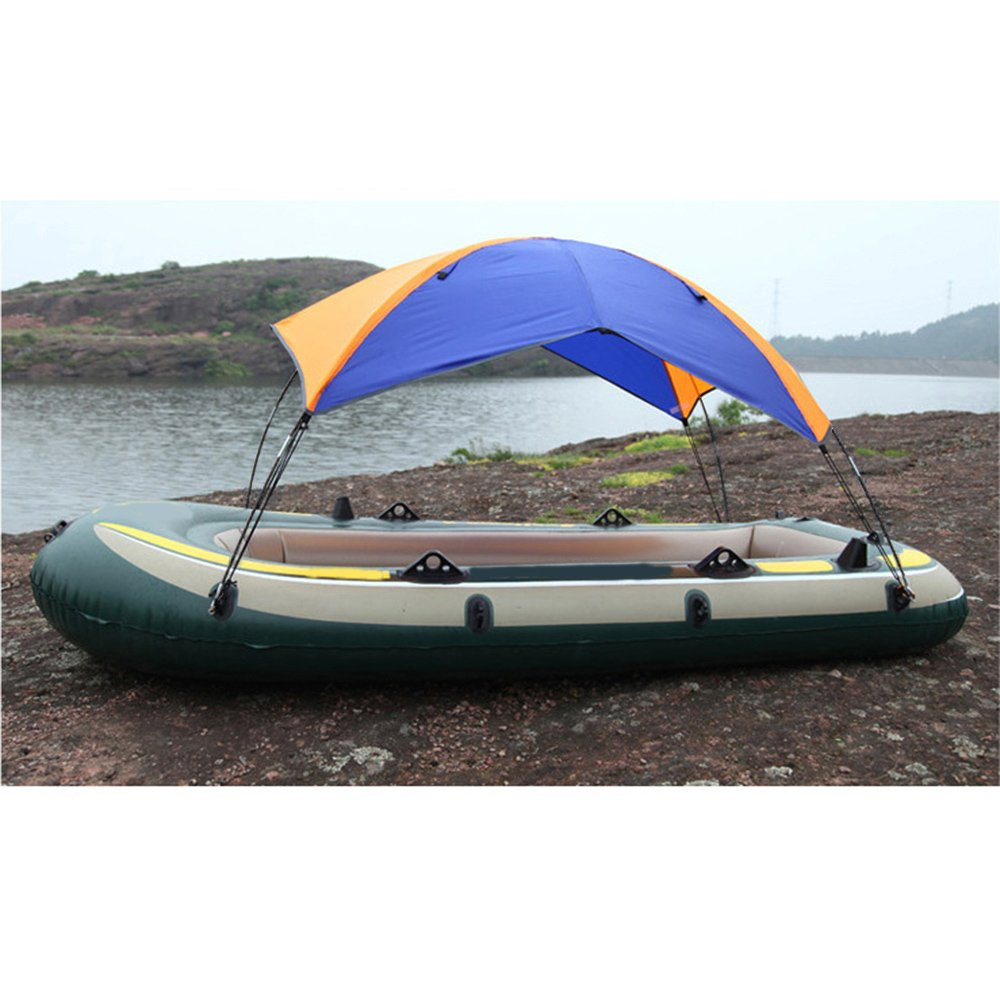 Docooler 2-person Inflatable Boat Sun Shelter Fishing Tent Rain Canopy for Inflatable Kayak Canoe Boat