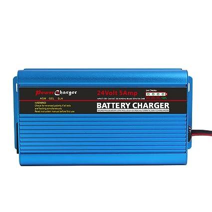 ULTRAPOWER - Cargador de batería automático Inteligente de 24 V y ...
