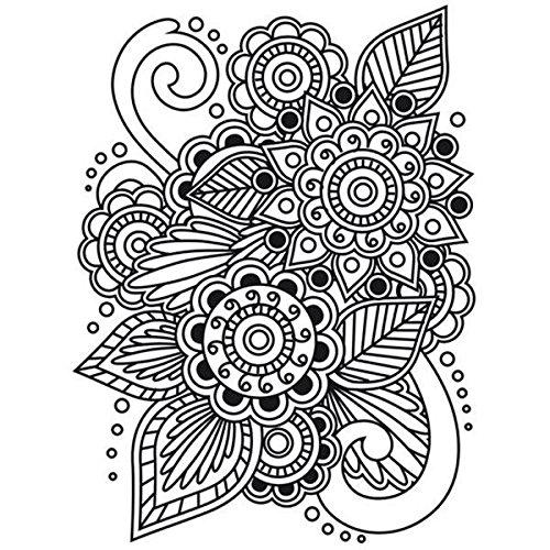 Henna Darice Embossing Folder 4.25 by 5.75-Inch