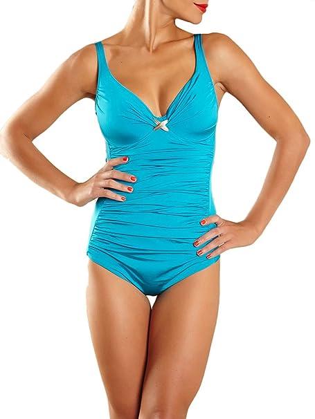 Chantelle Gazelle Swimsuit 1717 Azores Blue US32C