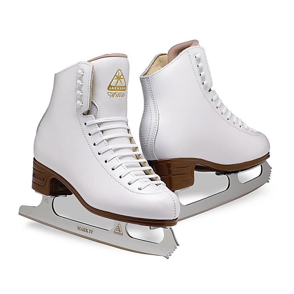 Jackson Ultima Ice Skates Artiste JS1790 / Width B Size 5.5, Color: White by Jackson Ultima