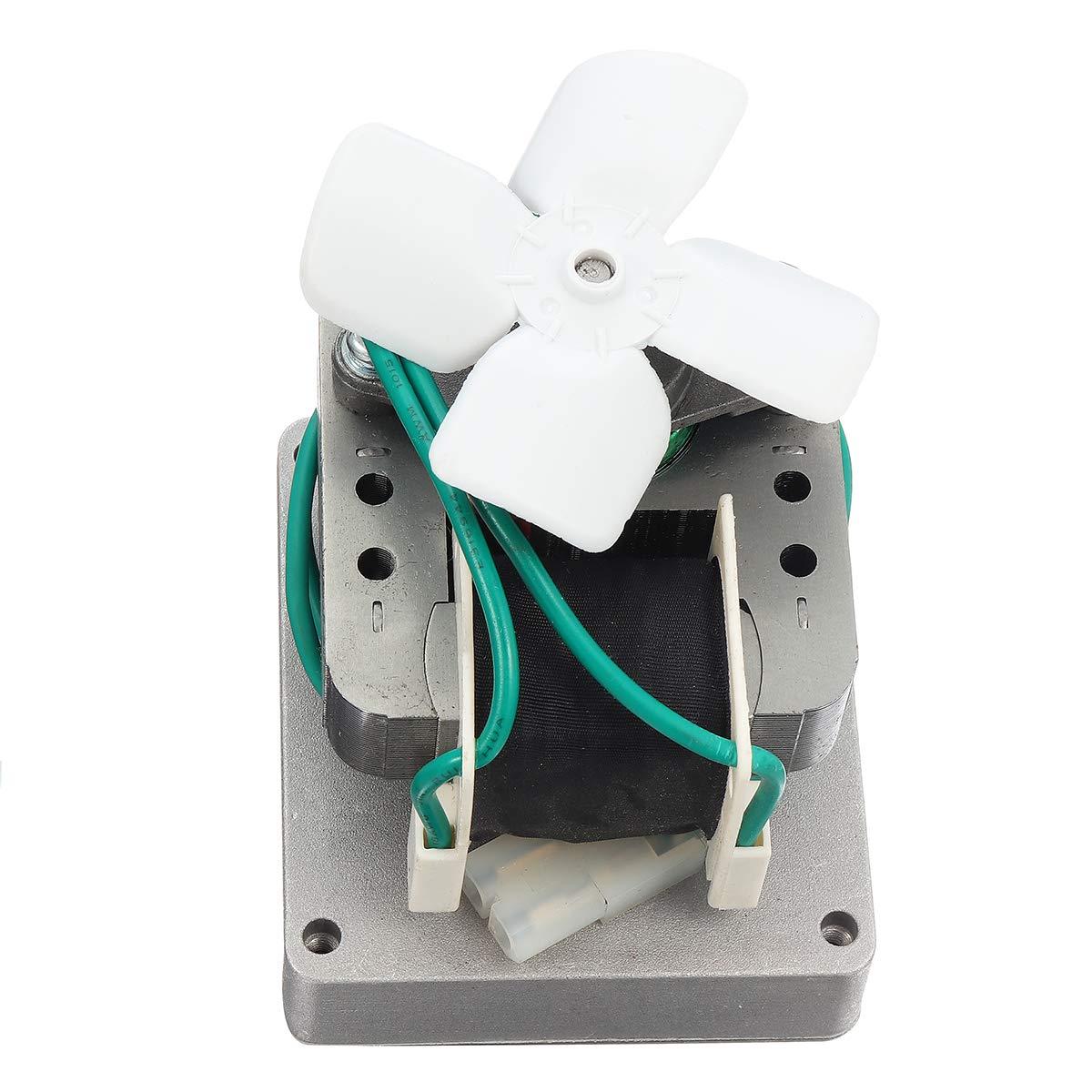 Forspero 50Hz 1.5//2.0 Rpm Motor De Barrena De Repuesto Para Pit Boss Parrilla De Fumador De Pellets De Madera El/éctrica # 001