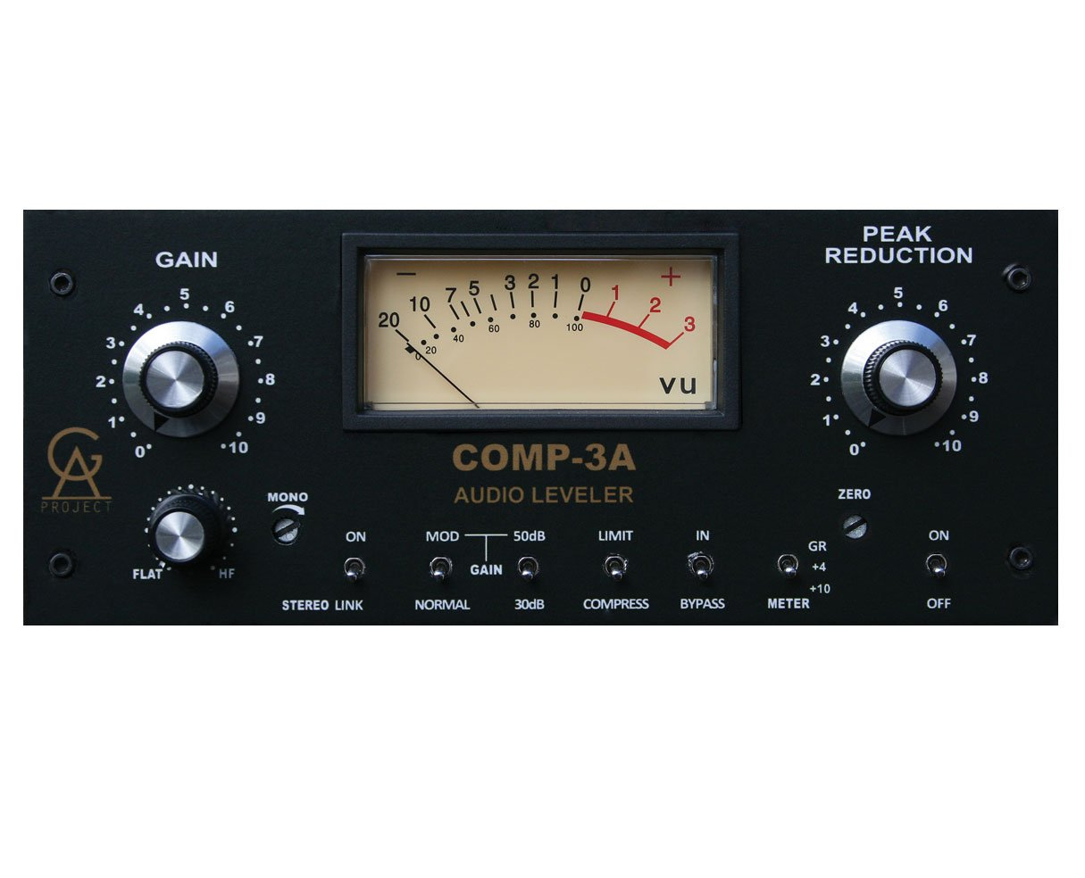 Golden Age Project Comp3A Vintage LA-3A Style Compressor, Leveler, and Limiter