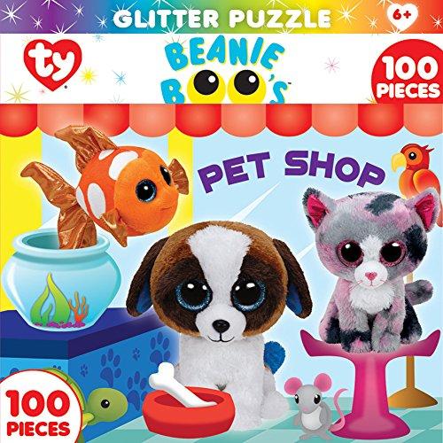 MasterPieces Beanie Boo Glitter Pet Shop Club Puzzle (100 Piece)