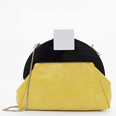 b38054790e Zarapack Women s Faux Leather Art Deco Clutch Shoulder Bag  Handbags   Amazon.com