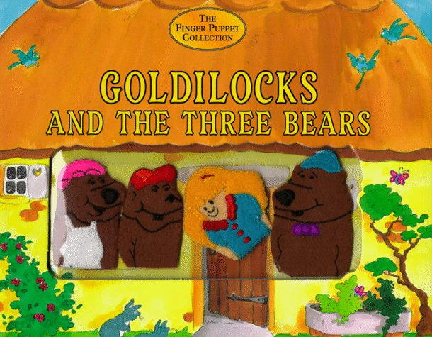 Goldilocks and the 3 Bears: The Finger Puppet Collection