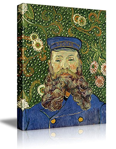Portrait of the Postman Joseph Roulin by Vincent Van Gogh Oil Painting Reproduction