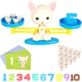 DmbsmOB Counting Toys ,Puppy Balance Montessori Educational STEM Math Counting Games & Balance Measuring Fun Gift for…