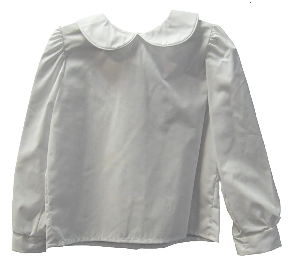 Girls Infant & Toddler White Piped Blouse by Funtasia Too