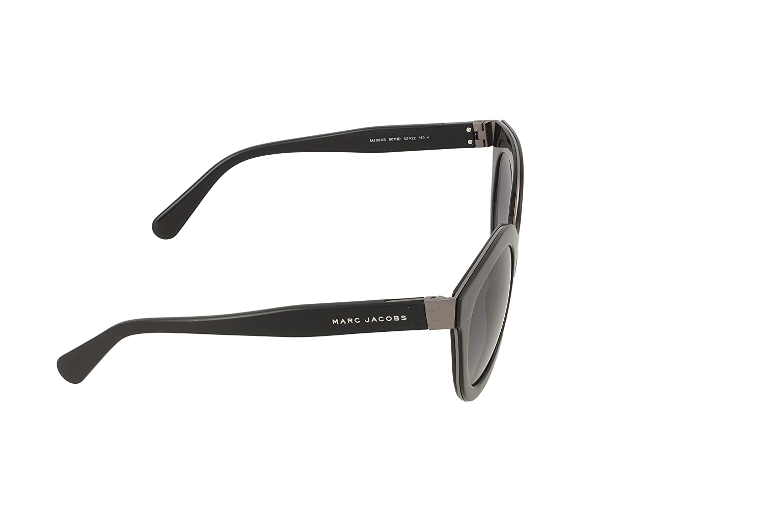 Marc Jacobs Sonnenbrille MJ 561/S 807 52HD (52 mm) Black, 52