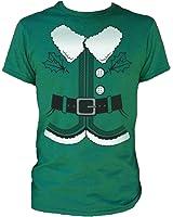 Santa's Elf Christmas Costume Tee Shirt
