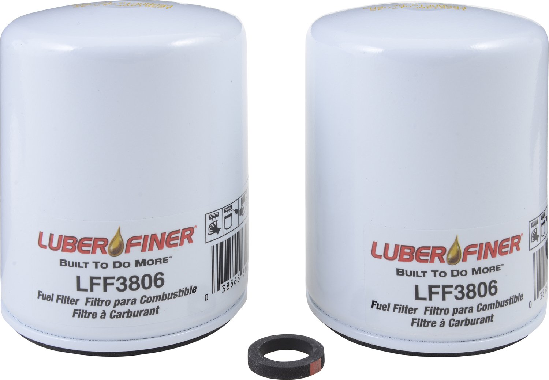 Luber-finer LFF3806-12PK Heavy Duty Fuel Filter, 12 Pack by Luber-finer