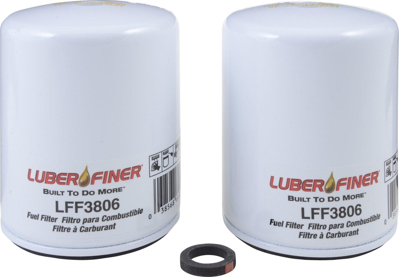 Luber-finer LFF3806-12PK Heavy Duty Fuel Filter, 12 Pack