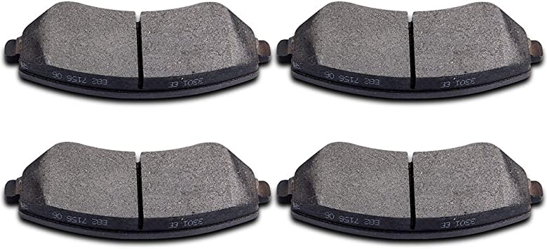FRONT CERAMIC BRAKE PADS FOR CHRYSLER TOWN /& COUNTRY 2003 2004 2005 2006 2007