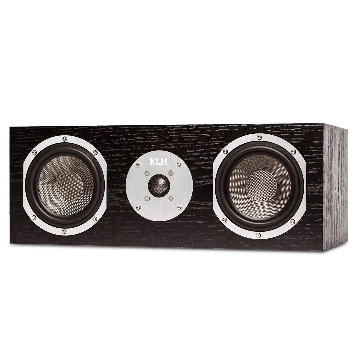 KLH Story Center Channel Speaker (Black Oak)