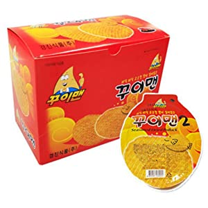 [Kui Man]Delicious Korean Jelly, Dried Filefish, Fish Sweets, Korea Snack, Beer Stew, Kids Snack 3Boxes (30Packs)