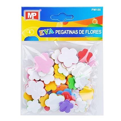 MP PM186 - Pegatinas adhesivas de goma Eva con formas