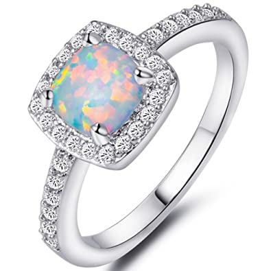 ring perfection from unique opal fire to rings most etsy engagement