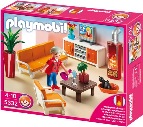 PLAYMOBIL 5332 - Behagliches Wohnzimmer