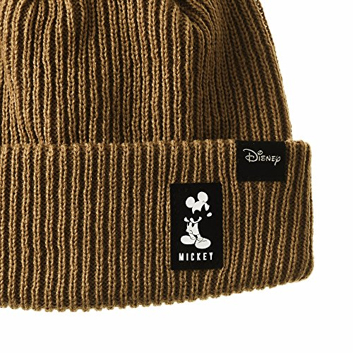 Gorros de WITHMOONS Ribbed CR5853 Mickey Marrón Disney Hat Punto Beanie Slouchy Mouse 5dHTwH