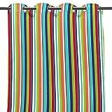 Jordan 50'' x 96'' Outdoor Curtain Panel - Multi-Colored