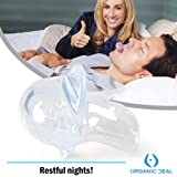 ANTI SNORING MOUTHPIECE TONGUE RETAINER HELPS TO