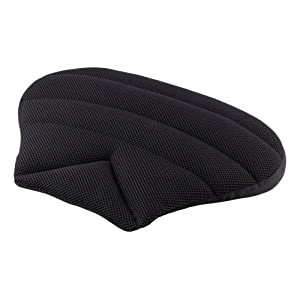 SITWELL black air Sitwell Wedge-Shaped Pillow Car Seat cushion Pillow Fabric, Black