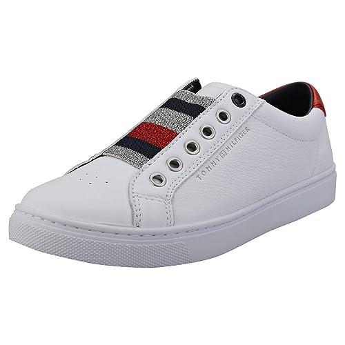 4a69fe1cee8 TOMMY HILFIGER FW0FW03707 Zapatillas DE Deporte Mujer  Amazon.es  Zapatos y  complementos