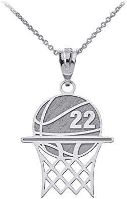 Personalized Basketball Charm