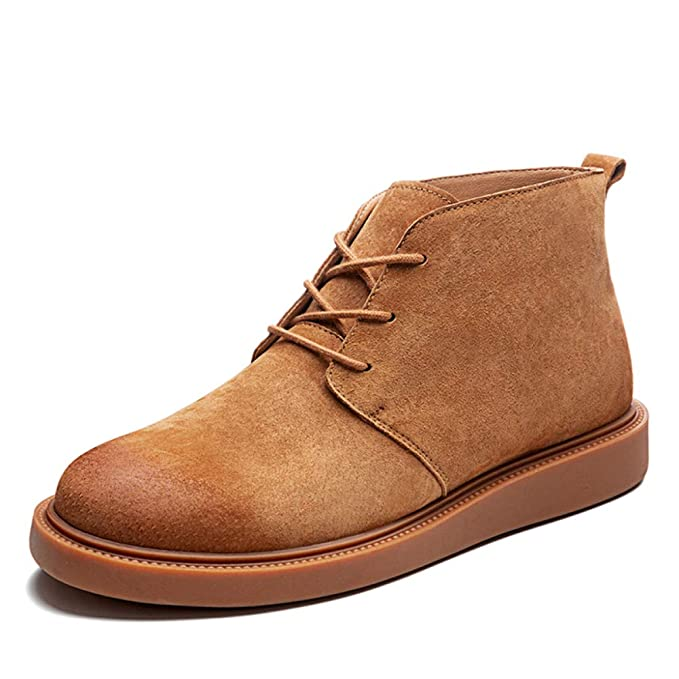 Botas Martin Para Hombre Botas De Nieve Para Hombre Encaje Ligero Zapatos De Invierno Al Aire Libre Forro De Piel Botines: Amazon.es: Ropa y accesorios