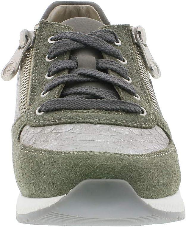 Rieker N7022 Femme Chaussures de Sport,Chaussures à Lacets,perméable à l'air